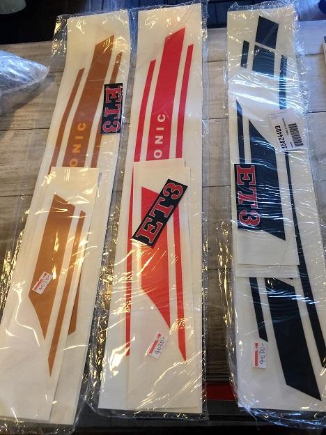 ET3 サイドデカールセット あまり見ない3色です  ¥4,030 (税込)